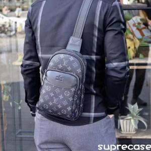 ルイヴィトン ボディバッグ メンズ ブラント モノグラム lv ショルダーバック シンプル 鞄 バッグ 斜め ...