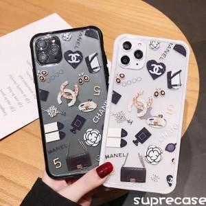 ブラント chanel iphone11/11proケース シャネル アイフォン11pro max保護カバー 透明ケース http://su ...