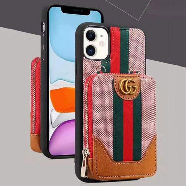 ブラント iPhone11/11proグッチケース カードポケット付き gucci iphone11pro max/xs maxカバー 送料無料