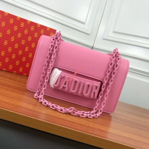 J'Adior Ultra Matte Bag Pink