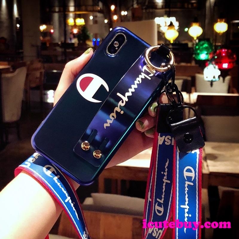 チャンピオン iPhone11/11 Proケース ベルト付き Championロゴ iPhone xs/xrケース ネックストラップ付 ...