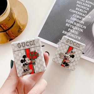 Gucci Mickey AirPods Pro ケース全面保護カバー GUCCI &Disney ブランドAirpods Pro保護カバーブラン ...