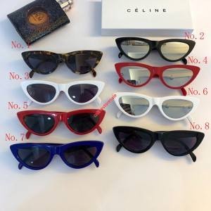 Celine Cat Eye Sunglasses In Acetate