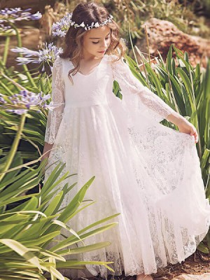 Cheap Flower Girl Dresses UK Online – Missysin UK