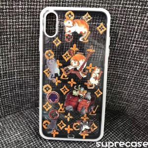 ルイヴィトン iPhone11/11pro maxケース 透明ケース ブラント アイフォン11proカバー 可愛い猫柄 モノ ...