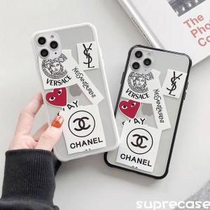 ブラント CHANEL iPhone11 Proケース サンローラン/YSL iphone11/11pro maxケース 透明ケース シャネル ...