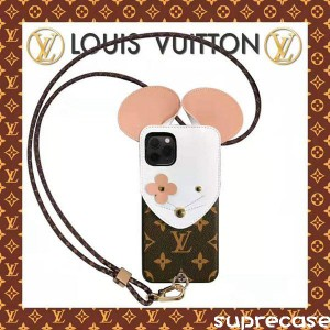 ルイヴィトン iphone11/11pro maxケース ブランド iphone 11 pro/xr/xs maxケース 可愛いネズミデザイ ...