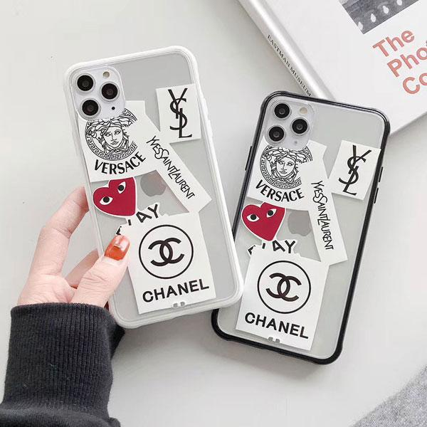 シャネル iPhone 11 Proケース 透明ケース ブラント サンローラン/YSL アイフォン11/11pro maxケース