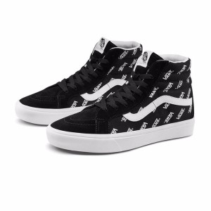 Vans Sk8-Hi Comfy Cush Shoes Black