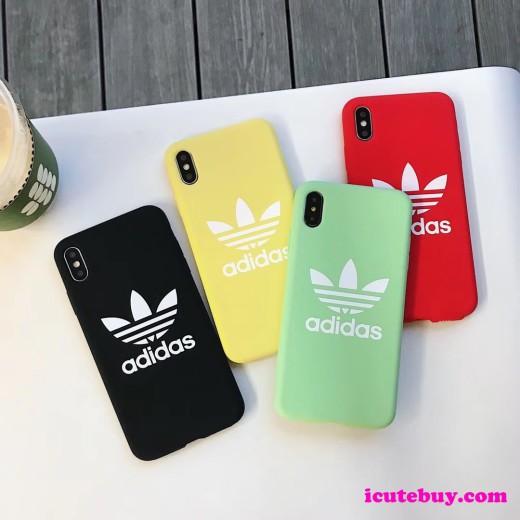 Adidas アディダス iphone11/xs/xr/8/7plus シリコンケース カラフル 男女 並行輸入品 icutebuy通販