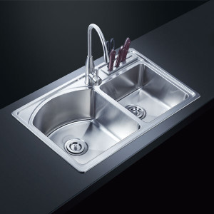 kitchen faucets manufacturers  –  Stainless Steel Small Radius Sink AF-8248   Premium 16-g ...