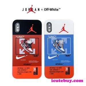 Air Jordan x Off White コラボ iPhone11 Pro/iPhone11 ケース 芸能人の定番 icutebuy通販