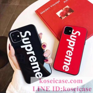 SUPREME iphone11 pro maxケース シュプリーム iphonexs max xr ケース 強化ガラス アイフォン 11 pro  ...