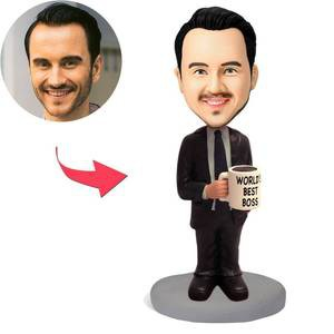 Boss Bobblehead,Custom Business Bobbleheads Gift – MyCustomBobbleheadsUK