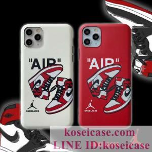 ナイキ nike iphone11 pro maxケース 個性 jordan iphone11 proスマホケース アイフォン Xs max Xrペア ...