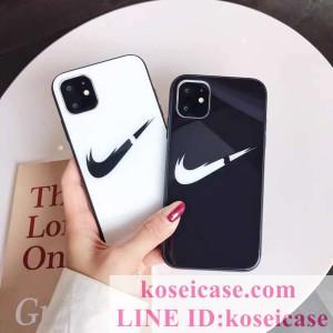 ナイキ nike iphone11 pro maxケース アイフォン Xs max Xr ケース 強化ガラス iphone11ケース アイフ ...
