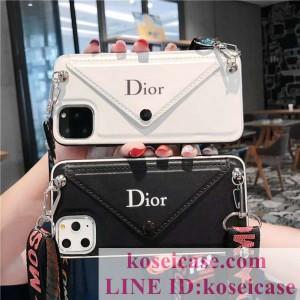 ディオール DIOR iphone11 ケース大歓迎 iphone11 pro max/11 proペアケース カード収納 iphoneXS/Xr/X ...