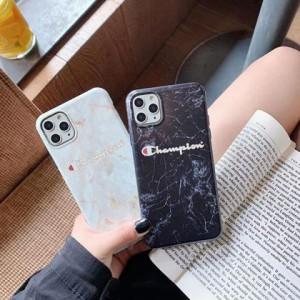 カップル揃い champion iphone 11pro/11pro maxケース 大理石紋様 http://mobilekaba.com/products/iph ...