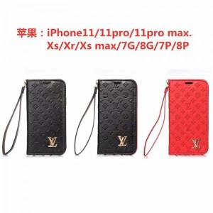 ルイヴィトン iPhone11pro maxケース 手帳型ケース ブラント lv アイフォン11/11プロカバー 高品質