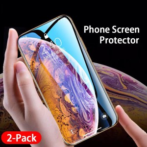 (2 Pack)Screen Protector Tempered Glass Film – GetCustomPhoneCase