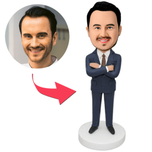 Personalised Bobbleheads Custom Businessman Bobbleheads,Valentine's Gift – MyCustomBobbleh ...