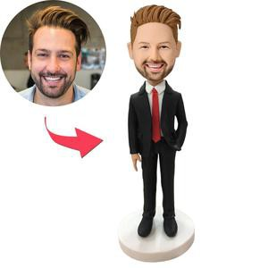 Personalized Custom Business Boss Bobbleheads Gift For Dad – MyCustomBobbleheadsUK