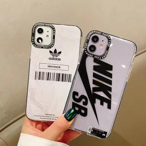 ナイキ SB iPhone11/11pro ケース 透明 アディダス iPhone 11promaxケースNike iphone11proカバー ペア ...