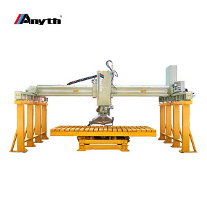 It features a high processing precision in proper operating conditions. This stone cutting machi ...