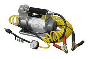AIR COMPRESSOR LS1134 1) Power supply: DC 12V  2) 6m PU coiling air hose  3) Cord: 3.0m  4) Max. ...