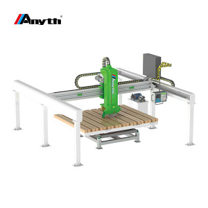 This granite cutting machine is constructed from cast iron for the highest quality and best stab ...