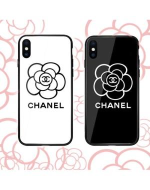 シャネル chanel iphone xr/xs max/11/11proケース  花絵柄ブランドアイフォン x/8 plusケース  galaxy ...