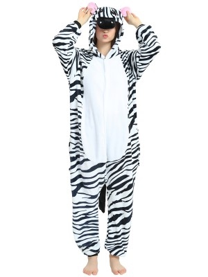 Cozy Zebra Flano PJ for Girls and Boys
