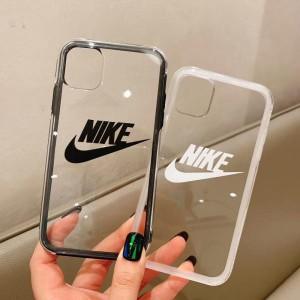ナイキ iPhone 11 Proケース ペア Nike iPhone11/11pro max カバー 透明ケース ブラント アイフォンケース