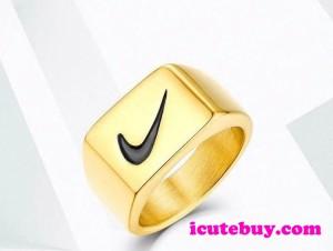 ナイキ 指輪 NIKE リング Nike Ring ゴールド 男女 並行輸入品 icutebuy通販