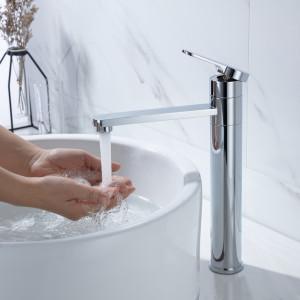Wird auf dem Waschbecken installiert, um kaltes Wasser, heißes Wasser oder eine Mischung aus hei ...