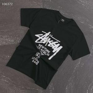 STUSSY tシャツ 男性向け カットソー ステューシー プリント クルーネック Tシャツ http://betskoza.c ...