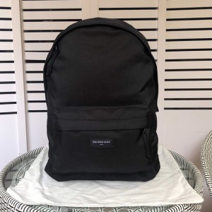 Balenciaga Explorer Backpack Nylon In Black Outlet Balenciaga Cheap Sale Store