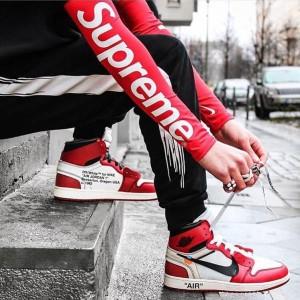 シュプリーム ナイキコラボ アームカバー Supreme Nike腕カバー 2枚組 伸縮タイプ UV対策サポーター ht ...