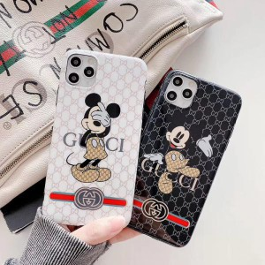 Gucci mickey iphone11pro/11ケース 可愛い グッチ アイフォンSE/11PRO MAXカバー 人気 光沢 https://k ...