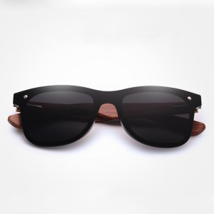 Natural Wooden Sunglasses Square Bamboo For Men/Woman – EyeWearShop