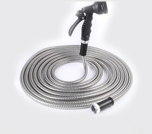 The metal hose is generally composed of three parts: a bellows, a mesh sleeve and a joint. For m ...