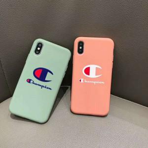 supreme iphone xr/xs maxケースシュプリームチャンピオン iphone xs/xカバー ファッションシンプル ア ...