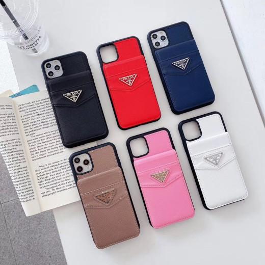 ブランド プラダ iphone 11/11Proケース カード収納 オシャレ PRADA アイフォン11Pro max携帯ケース ht ...