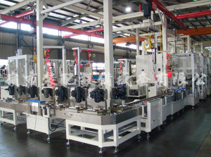 Station configuration is according to assembly process and cycle time, the assembly line consist ...