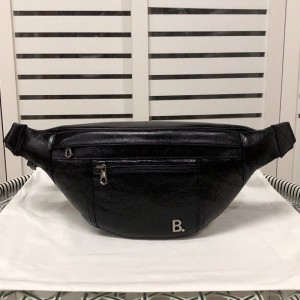Balenciaga B Beltpack In Black Outlet Balenciaga Cheap Sale Store