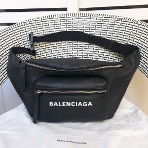 Balenciaga Everyday Belt Pack In Black Outlet Balenciaga Cheap Sale Store