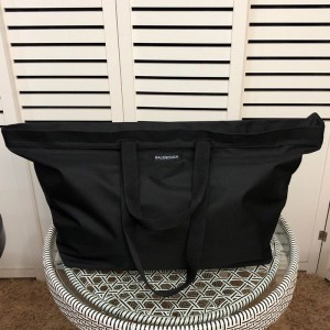 Balenciaga Explorer Tote Bag In Black Outlet Balenciaga Cheap Sale Store