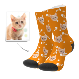 Custom Cat Socks | Get Photo Blanket