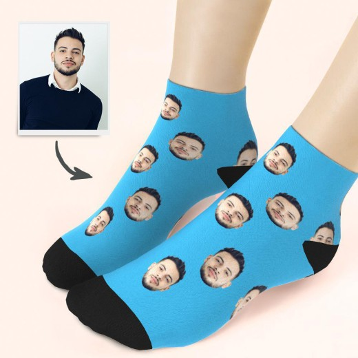 Custom Face Low Cut Ankle Socks – MyFaceGifts