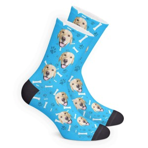 Custom Pet Face Socks | Get Photo Blanket